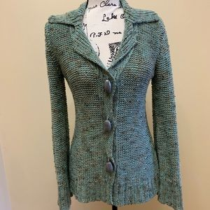 BCBG MaxAzria Knit Button Down Cardigan